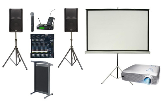 Audio Visual Conference Hire